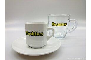 Reklamní šálky a sklenice Teddies