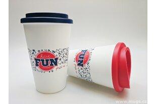 Plastové hrnky Americano Latte