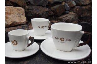 Porcelánové šálky pro kavárny