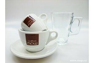 Reklamní šálky pro kavárny