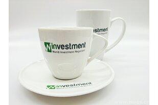 Porcelánové nádobí pro firmy