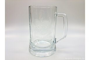 Pivní sklenice s logem