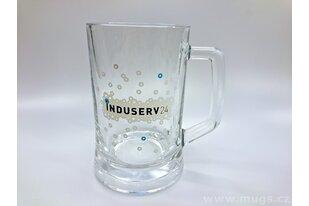 Pivní sklenice s potiskem