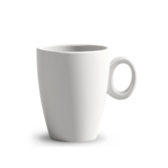 LAVANDA Mug bianco 305 ml