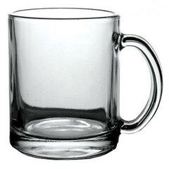 Reklamný sklenený hrnček číry 300 ml