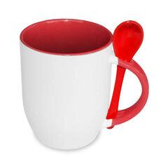 Sublimation Mug 330 ml red