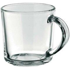 Reklamný sklenený hrnček číry 250 ml