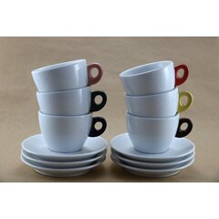 GIACINTO COLORE Cappuccino - SET 6 ks 195 ml
